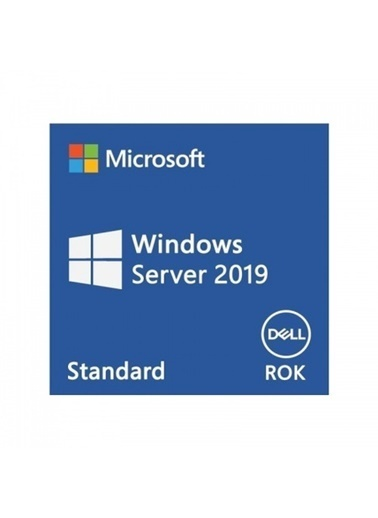 Dell 634-Bsfx Microsoft Server 2019 Standart Rok İşletim Sistemi Renkli